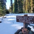 You'll find snow here much of the year. Visit in August for the best chance at a snow-free trail.- Union Peak