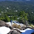 The last few switchbacks will get your attention.- Union Peak