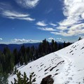 But most of the trail is made of gentle switchbacks that zigzag up the mountainside.- Union Peak
