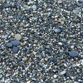 Sections of this beach are pebbly.- Big Lagoon County Beach
