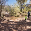 The first creek crossing.- Kanarra Creek Trail to Kanarraville Falls