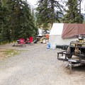 Spacious camping at Little Molas Campground.- Little Molas Campground