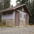 The facilities at Little Molas Campground.- Little Molas Campground