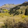 Peaks surrounding Cunningham Gulch.- Cunningham Gulch