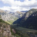 Views to the end of the box canyon along the Jud Wiebe Trail.- Jud Wiebe Trail