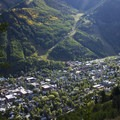Views over Telluride and the Telluride Ski Resort from the Jud Wiebe Trail.- Jud Wiebe Trail