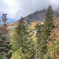 Looking up toward one of the several cirques of Mount Timpanogos.- Stewart Falls Trail