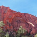Kolob Arch, the second largest natural arch in the world.- Kolob Arch