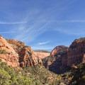 Kolob Canyon continuing into Zion.- Kolob Arch