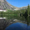 No Name Lake.- Dawson + Pitamakan Pass