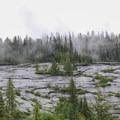 Exfoliated granite landscapes along Upper Lion Creek.- Upper Lion Creek