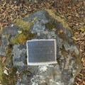 Dedication plaque for Samuel H. Boardman.- Natural Bridges Viewpoint