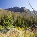 Peaks surrounding the Chicago Basin in the Weminuche Wilderness near Windom Peak.- Windom Peak
