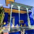The villa-studio of Jacques Majorelle, now home to the Berber Museum.- Jardin Majorelle