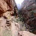 Descending through Refrigerator Canyon.- West Rim Trail, Lava Point to Zion Canyon
