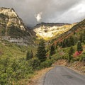 Mount Timpanogos (11,752 ft) is a very dynamic peak, with vastly different looks from various angles.- Alpine Loop Scenic Drive