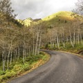 Driving the Alpine Loop Scenic Drive.- Alpine Loop Scenic Drive