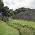The Ulupo Heiau State Historic Site.- The Ulupo Heiau State Historical Site
