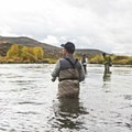 Fishing the Middle Provo River.- Middle Provo River
