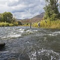 Middle Provo River.- Middle Provo River