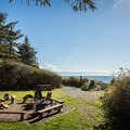 Picnic Area overlooking the beach.- French Beach