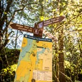 Signage along the trail is easy to follow.- Jocelyn Hill via Caleb Pike