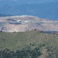 View southwest of the Cripple Creek and Victor Gold Mine.- Pikes Peak, Crags Route Hike