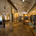 The visitor center at Florissant Fossil Beds National Monument.- Florissant Fossil Beds National Monument