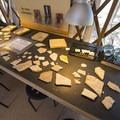 Educational pavilion (yurt) at Florissant Fossil Beds National Monument.- Florissant Fossil Beds National Monument