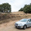 A parking area on Alpine Road approximately 1 mile west of Skyline Boulevard provides access to the Ancient Oaks Trail.- Ancient Oaks Trail