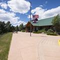 Mueller State Park Visitor Center.- Mueller State Park