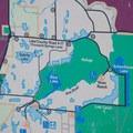 Map of Summer Lake Wildlife Area.- Summer Lake