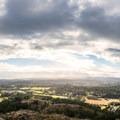 Looking west over Saanich.- Mount Douglas Park