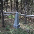 Billy Quinn's grave site.- Osprey Point Interpretive Trail