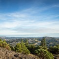 Enjoying the view from the top of Mount Finlayson.- Mount Finlayson