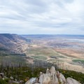 Overlooking Summer Lake and the valley from Fremont Point.- Fremont Point Day Use Area