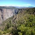 Views of the Black Canyon of the Gunnison from the Warner Point Nature Trail.- Warner Point Nature Trail