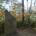Black Rock Mountain summit.- Tennessee Rock Trail