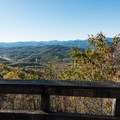 Tennessee Rock Overlook.- Tennessee Rock Trail