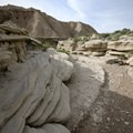 Fascinating rock formations carved by wind and water through the ages.- Bison Trail
