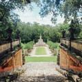 Garden view.- Vizcaya Museum + Gardens