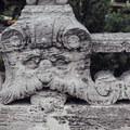 Stonework in the garden.- Vizcaya Museum + Gardens