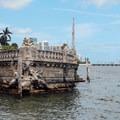 Artificial sunken ship- Vizcaya Museum + Gardens