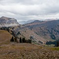 Death Canyon Shelf.- Teton Crest Trail