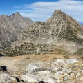 View from Paintbrush Divide (10,700 ft).- Teton Crest Trail