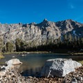 Holly Lake.- Teton Crest Trail