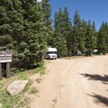 the Crags Campground.- The Crags Campground