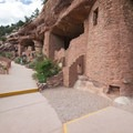 Manitou Cliff Dwellings.- Manitou Cliff Dwellings