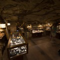 Visitor center and gift shop at Manitou Cliff Dwellings.- Manitou Cliff Dwellings