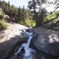 Buffalo Canyon Creek leading up to Silver Cascade Falls.- Helen Hunt Falls Hike